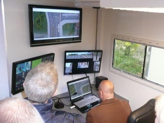Simulateur de conduite VAG